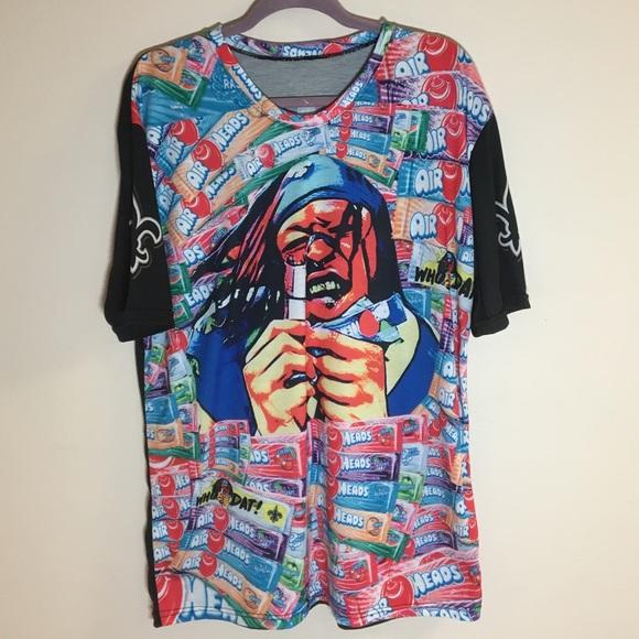 02b5924b New Orleans Saints Alvin Kamara Airheads T-Shirt